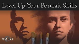 Quickest Method to Level Up Portrait Painting Skills