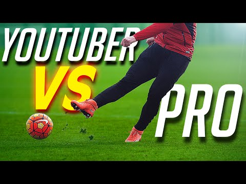 freekickerz vs Bayern Munich Pro's - Football Challenge