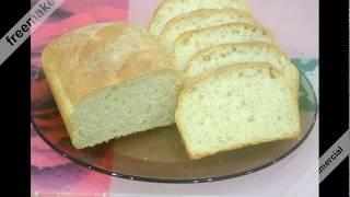 Хлеб Рецепт  Белый ХЛЕБ в духовке Домашний хлеб  Выпечка хлеба  Тесто для хлеба