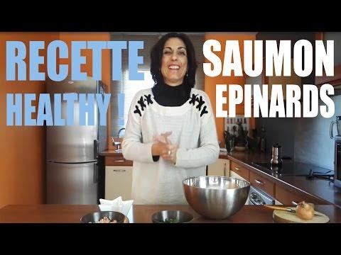 recette-saumon-epinards---réussite-fitness