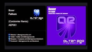 Boxer - Fathom (Cordonnier Remix) [Alter Ego Progressive]
