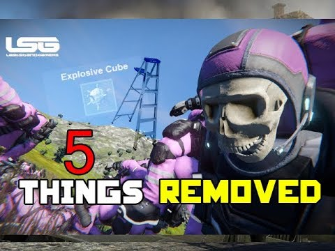 5 FEATURES REMOVED from Space Engineers |