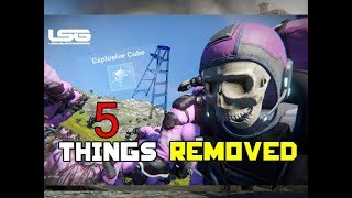 5 FEATURES REMOVED from Space Engineers