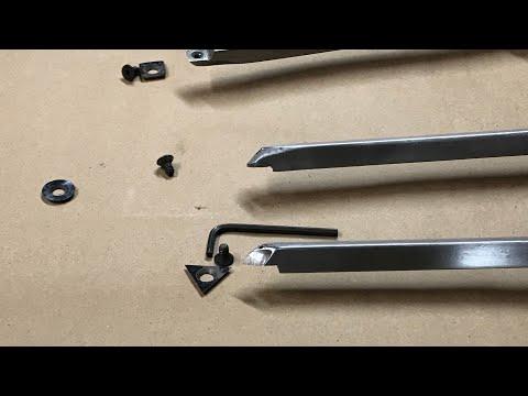 DIY Carbide Cutter Woodturning Tools