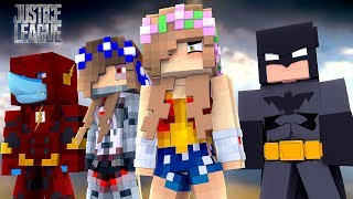 BECOMING THE JUSTICE LEAGUE! | Minecraft Toystore |Little Kelly