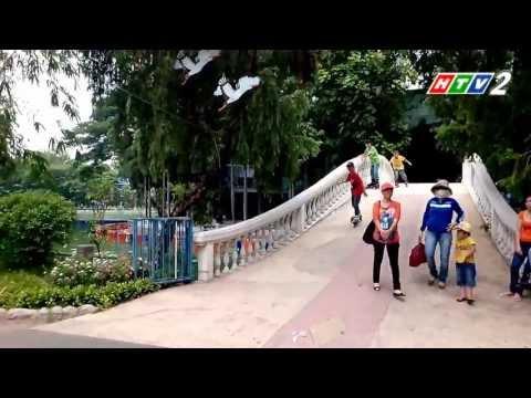Trượt Patin ở Công viên Đầm Sen