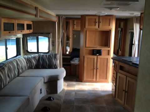 Shadow Cruiser Rv >> 2013 Cruiser RV Shadow Cruiser 314TSB Triple Slide Bunk Travel Trailer - YouTube