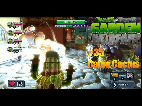 Plants Vs Zombies : Garden Warfare - #35 - Camo Cactus