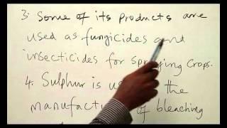Chemistry - Sulphur & Its Allotropes