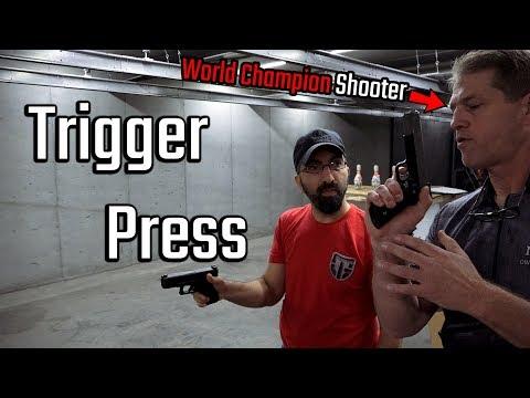 Working on TRIGGER PRESS with WORLD champion Matt McLearn!