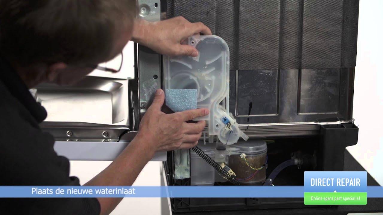 Hoe vervang ik de waterinlaat in een vaatwasser youtube - Hoe een stuk scheiden ...