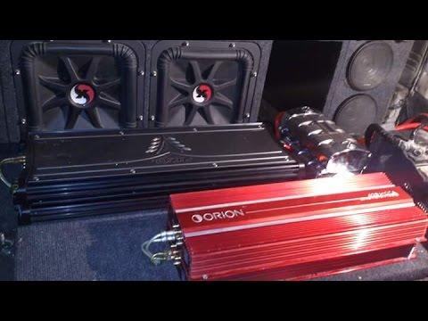 SPL Bass Competition Earthquake X2 KICKER SoloX 12 Box SPL - X2 AMP KICKER ZX2500.1