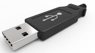 Complete 3D modelling of USB plug in AutoCAD