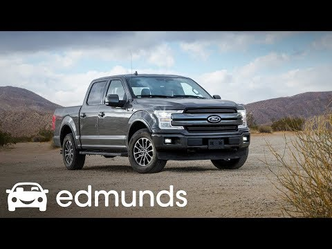 2018 Ford F-150 Lariat 4WD Crew Cab Review | Track Test | Edmunds