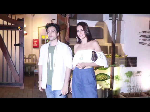 MANDANA KARIMI SPOTTED AT FEBAL JUHU