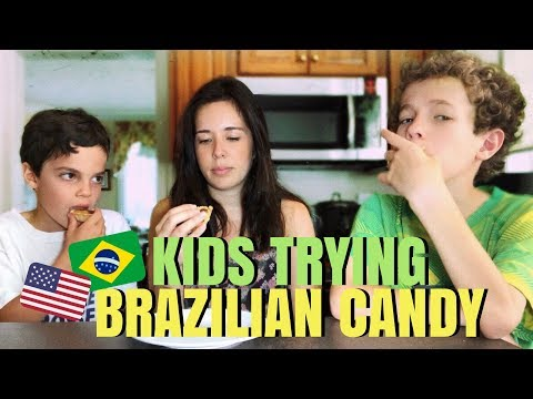 AMERICAN KIDS TRYING BRAZILIAN CANDY