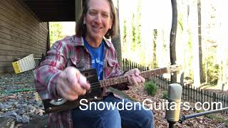 3 string thursday with mike snowden resonator box guitar 12-12-2019