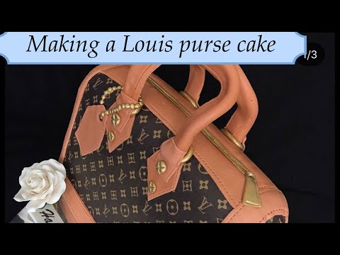 8055656f17a How To Make a Gucci Purse Cake - YouTube