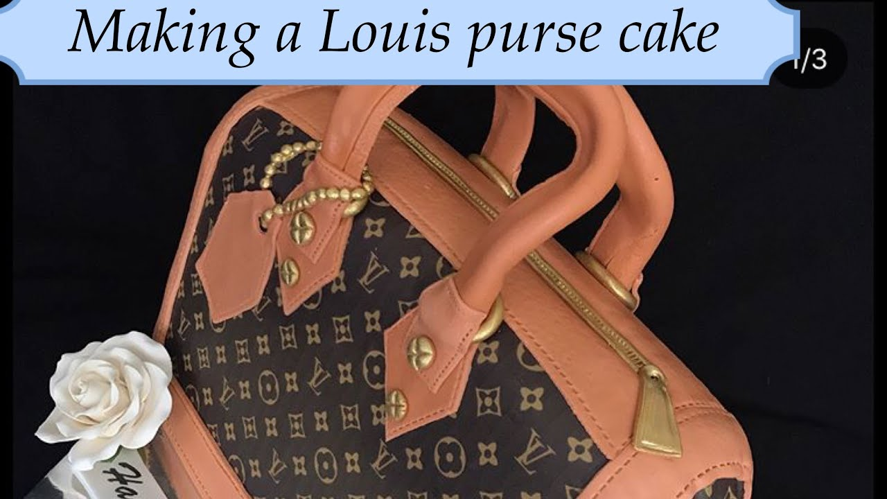 How to make a Louis Vuitton cake purse - YouTube 5fde6ab98c63b