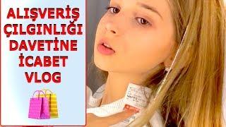 Alışveriş Çılgınlığı Davetine İcabet Vlog. Ecrin Su Çoban