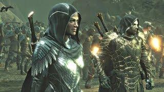 Shadow of War DLC - Blade of Galadriel - Eltariel Final Fortress Siege & Rogue Nazgul Sisters Boss