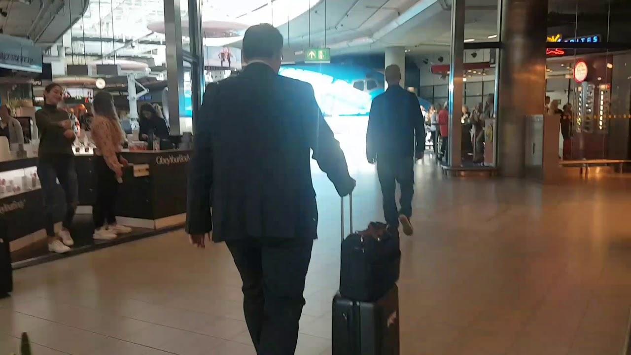 مطار امستردام سخيبول اجمل مطار في العالم Schipol Airport
