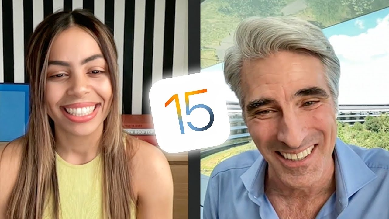 FaceTime with Craig Federighi! - New iOS 15 Updates & more
