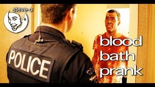 Blood Bath Prank - Steve-O