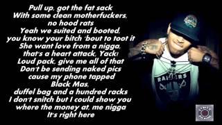 Chris Brown & Tyga Ft. ScHoolboy Q - Bitches N Marijuana (Lyrics)
