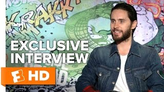 Will Smith & Jared Leto Exclusive 'Suicide Squad' Interview (2016)