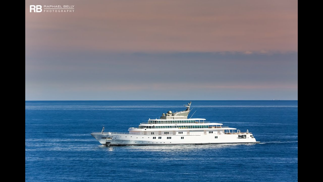 David Geffen His Crazy Us 300 000 000 Yacht Rising Sun Youtube