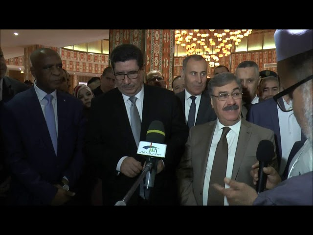 تغطية  زيارة وزير الفلاحة شريف عماري و ولقائه بمنتجي الحليب للاستماع لانشغالاتهم. نوفمبر 2019