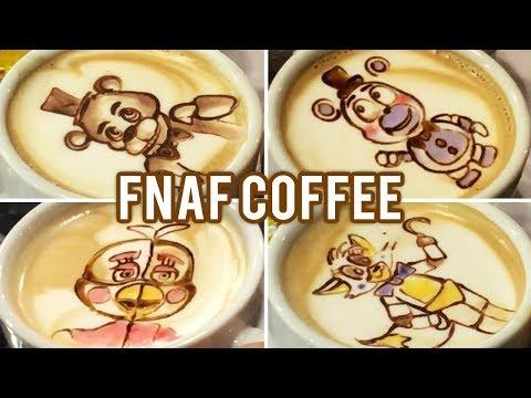 International Coffee Day! FNAF Latte Arts Special!