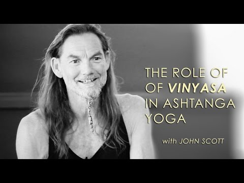 On Vinyasa in Ashtanga Yoga - John Scott