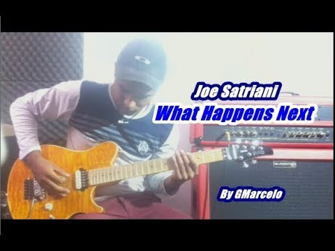What Happens NextJoe Satriani''' ( I HAVE BACKING TRACK ) by GMarcelo