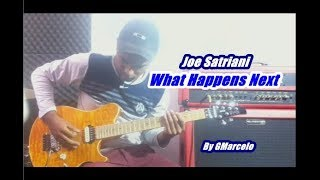 What Happens Next   Joe Satriani  ''' ( I HAVE BACKING TRACK ) by GMarcelo