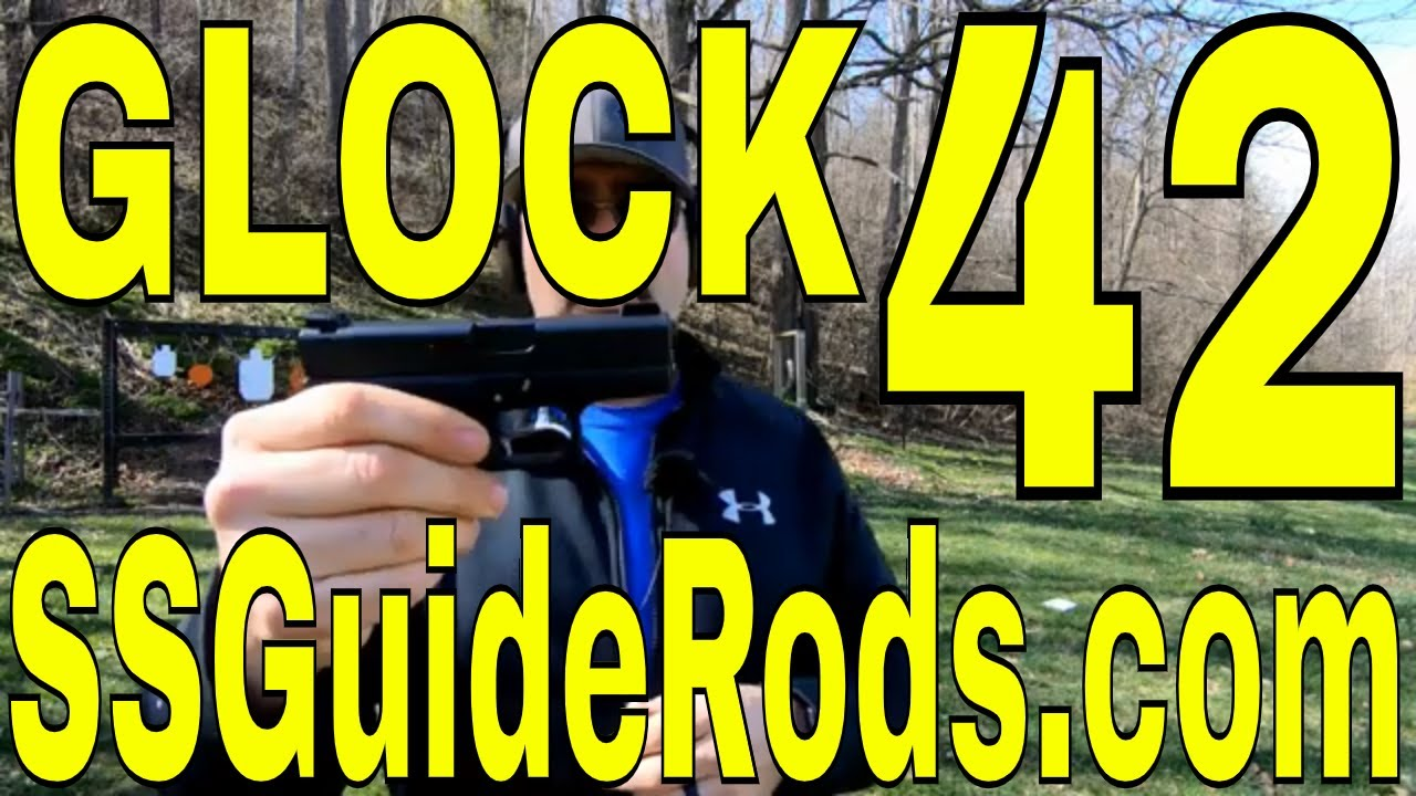 Glock 42 Stainless Steel Guide Rod | SSGuideRods.com