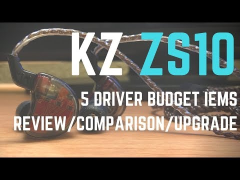 KZ ZS10 In Depth Review // Best Budget In Ear Monitor under $60???