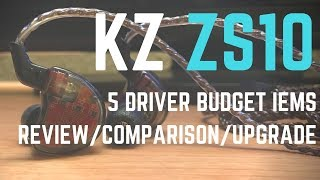 Video KZ ZS10 In Depth Review // Best Budget In Ear Monitor under $60??? download MP3, 3GP, MP4, WEBM, AVI, FLV Agustus 2018
