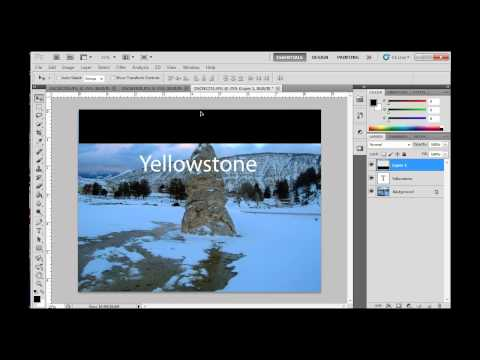 Working with Layers in Photoshop CS5 - Part 1 Beginners