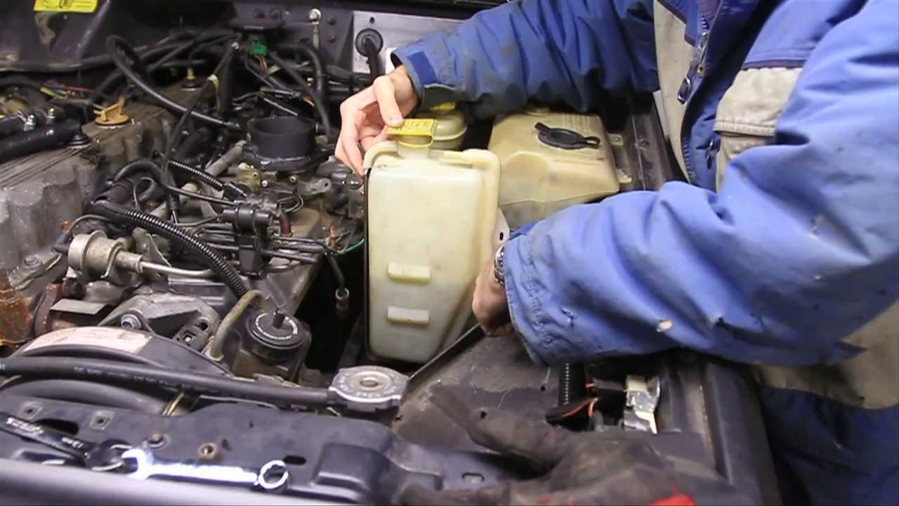 the perfect place for your coolant reservoir youtube