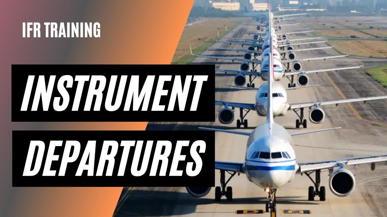 Download Standard Instrument Departures (SID) Obstacle Departure Procedure (ODP) Explained | IFR Departures