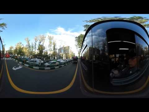 Express Bus Tehran 360 Video