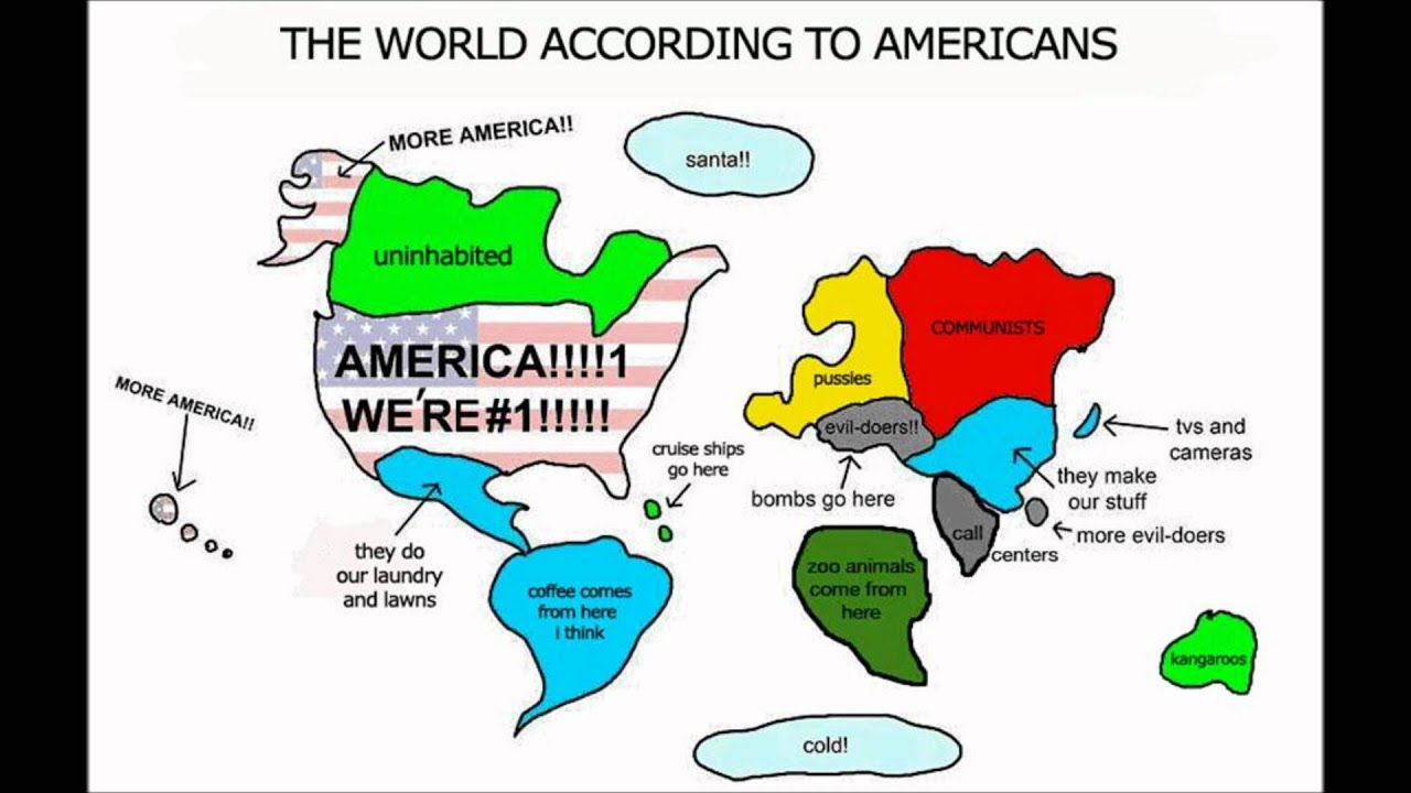 the world according to americans youtube