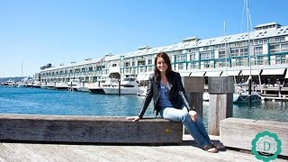 Przystań Finger Wharf - Wooloomooloo - Sydney | DOROTA.iN