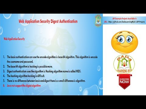 Lesson - 02 : Web Security - Digest Authentication