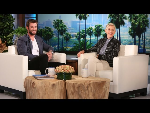 Chris Hemsworth? i so? ia lui se intalne? te