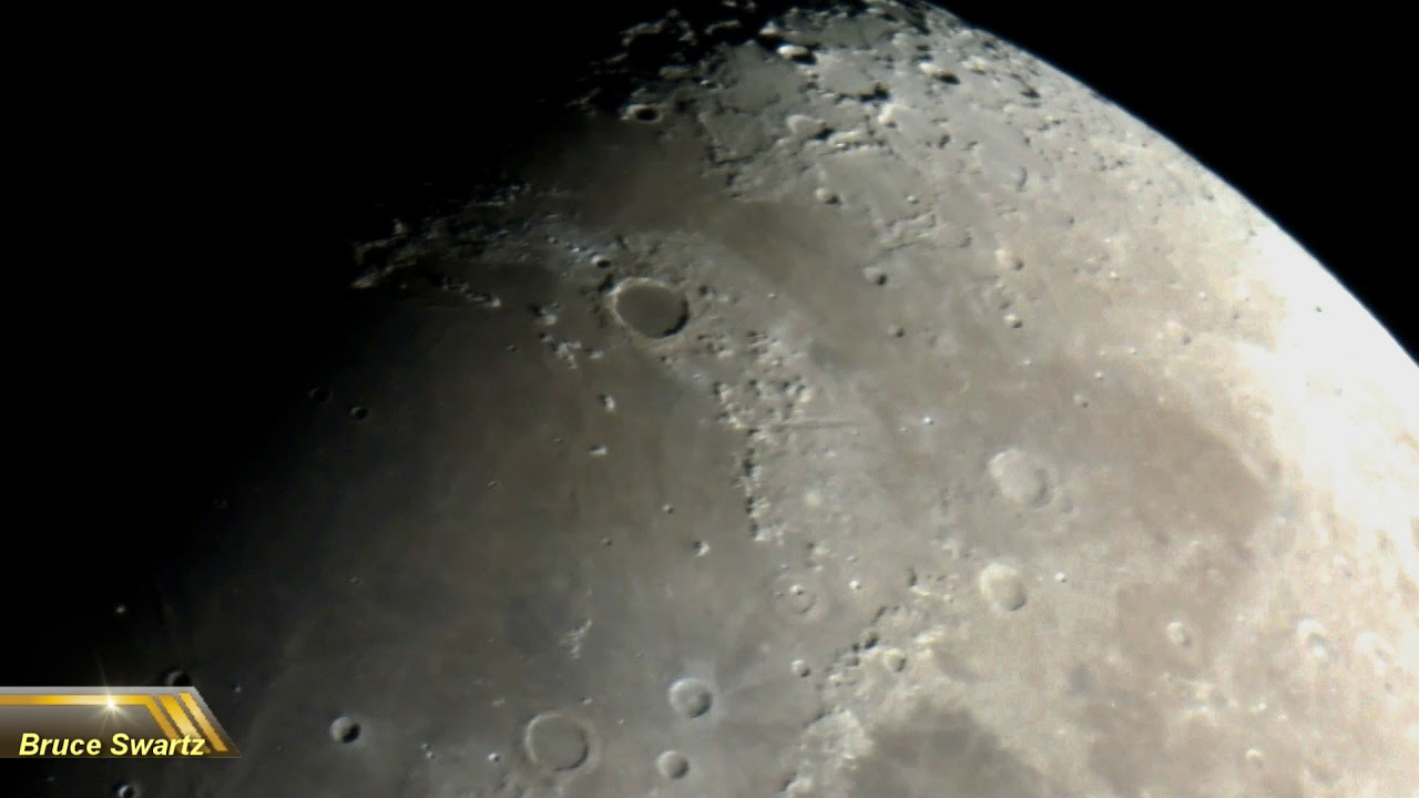 Cgx l 1400 hd telescope first test the live moon february 24th 2018