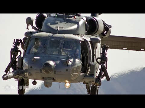 The U.S. Air Force's Combat Search And Rescue Helicopter: Sikorsky HH-60G Pave Hawk