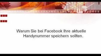 Facebook - Aus Sicherheitsgründen ist Dein Konto vorübergehend nicht erreichbar. Teil 1